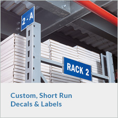 Custom, Short-Run Decals and Labels